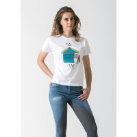 T-Shirt W-SO SHY ACCADEMIA ITALIANA STYLE