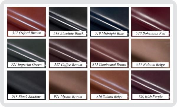 Tabella colori disponibili